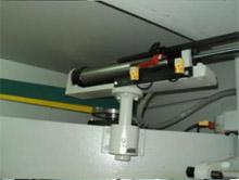 Карусельно-фрезерный станок QUADRO LH-60, LH-80, LH-100, LH-120, перемещение фрезерных узлов осуществляется под действием пневмоцилиндра