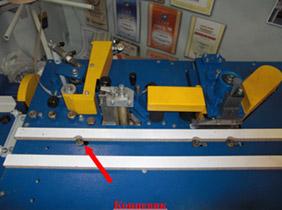 Кромкооблицовочный станок PF-21, Система управления кромкооблицовочным станком с ручной подачей