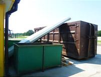 наклонный транспортер станка для углового пиления UNIVERSAL-1000