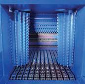 СМ (250x250, 300x300, 350x350, 400x400, 500x500, 600x600), подача материала в зону измельчения осуществляется с помощью цепного конвейера