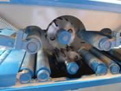Механизм подачи заготовки двухвального многопильного станка WD-170, WD-220