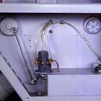 Централизованная смазка двухвального многопильного станка QUADRO MRS-700
