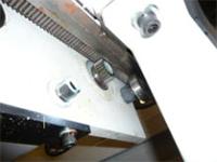 Раскроечный центр с задней загрузкой FILATO NPL-330H серии INDUSTRIAL, Перемещение толкателя форматно-раскроечного центра
