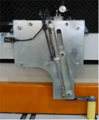 Раскроечный центр с задней загрузкой FILATO NPL-330H серии INDUSTRIAL, Боковой прижим форматно-раскроечного центра