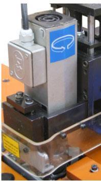 Станок для снятия свесов Filato FL - 92/2, Высокочастотные шпинделя фрезерных узлов