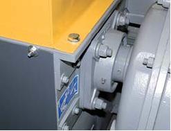 Шредер для измельчения древесных отходов LR520 (Австрия), роторный подшипник