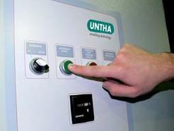 Шредер для измельчения древесных отходов LR520 (Австрия), шкаф управления
