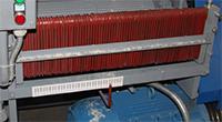 когтевая защита станка для кромления горбыля ДКО-55М
