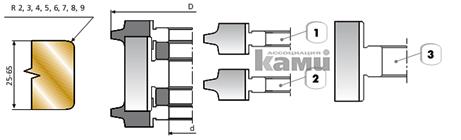 Фрезы для обработки торцов и кромок Самсон СП-03