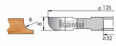 Фрезы цельнозатылованные для изготовления полугалтелей Мотор
