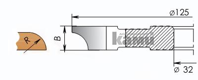 Фрезы цельнозатылованные для изготовления полуштапов Мотор