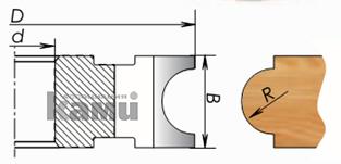 Фрезы с твердосплавными напайками для изготовления штапов (черенков) Мотор