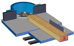 Фрезы для фрезерования пазов вдоль волокон древесины Мотор 1