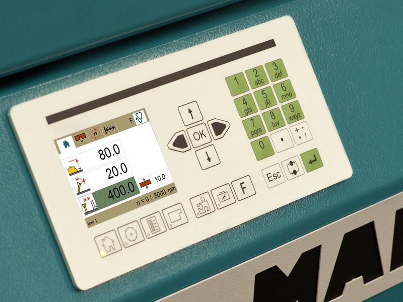 Форматно-раскроечный станок мод. «MARTIN T-65», Германия, Задание параметров пиления