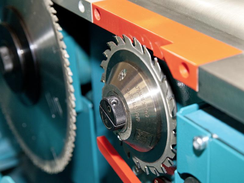 Форматно-раскроечный станок мод. «MARTIN T-65», Германия, 3-х осевой подрезной агрегат