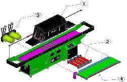 станок древесно-стружечный мод. yt-145, массивный корпус станка предотвращает от вибрации во время работы