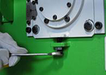 станок древесно-стружечный мод. yt-145, удобная и быстрая система регулировки вылета ножа позволяет получать стружку необходимого размера и толщины