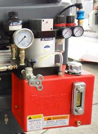Схема смазки основных узлов леточно-делительного станка Quadro-350Pro