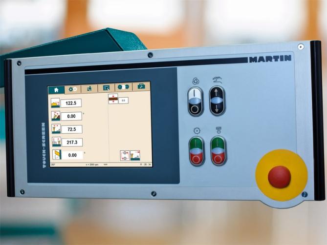 Форматно-раскроечный станок «MARTIN Т75 PreX», Функциональность программного обеспечания