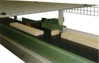 Линия оптимизации TRV 2700EB 500 Италия, Сортировочно-загрузочный конвейер