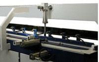 Пресс для сращивания по длине (автомат) PSK 3100A, 4500A, 6000A, 9000A, 12000A, схема обработки, двухпозиционный рабочий стол