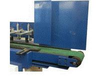 Пресс для сращивания по длине (автомат) PSK 3100A, 4500A, 6000A, 9000A, 12000A, схема обработки, конвейер подачи ламелей из магазина
