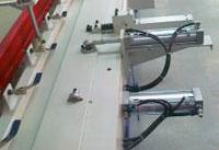 Пресс для сращивания по длине (автомат) PSK 3100A, 4500A, 6000A, 9000A, 12000A, схема обработки, боковой прижим плети