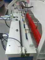 Пресс для сращивания по длине (автомат) PSK 3100A, 4500A, 6000A, 9000A, 12000A, схема обработки, верхний прижим плети