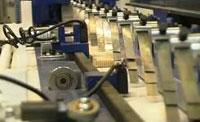 Пресс для сращивания по длине (автомат) PSK 3100A, 4500A, 6000A, 9000A, 12000A, схема обработки, прессование двух заготовок одновременно