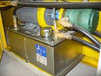 Пресс для сращивания по длине (автомат) PSK 3100A, 4500A, 6000A, 9000A, 12000A, схема обработки, встроенная гидростанция