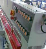 Пресс для сращивания по длине (автомат) PSK 3100A, 4500A, 6000A, 9000A, 12000A, схема обработки, пульт управления прессом