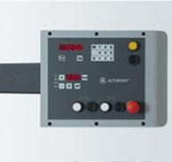 Форматно-раскроечный станок ALTENDORF WA-80, Панель управления на уровне глаз